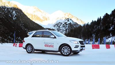 Experiencia 4Matic de Mercedes-Benz en Andorra