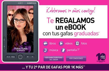 En Alain Afflelou te regalan un ebook con tus gafas graduadas