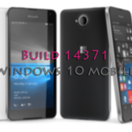 La Build 14371 ya está disponible para Windows 10 Mobile en el anillo rápido