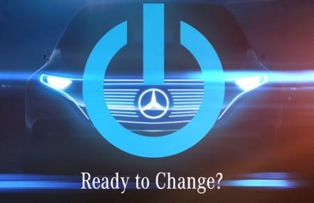 El próximo todocamino 100% eléctrico de Mercedes-Benz para el Salón de París ya tiene 'teaser'
