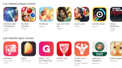 La App Store pasa de máquinas a personas para mantener sus listas de juegos destacados