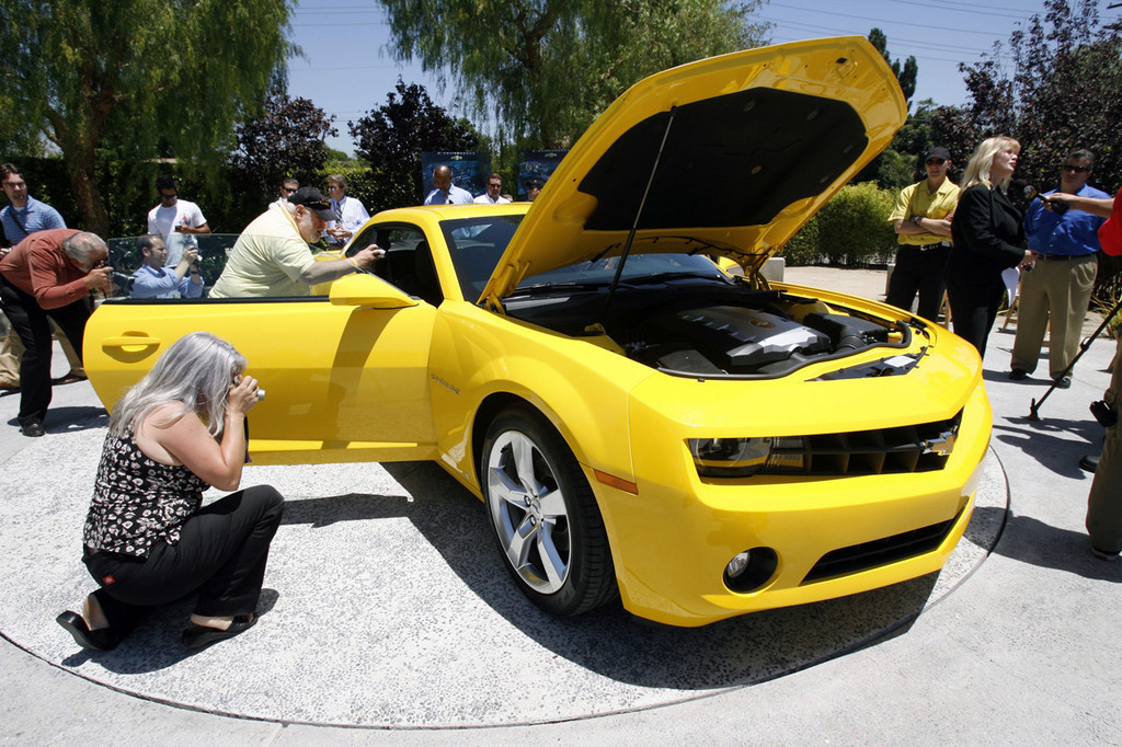 Foto de 2010 Chevrolet Camaro (21/56)