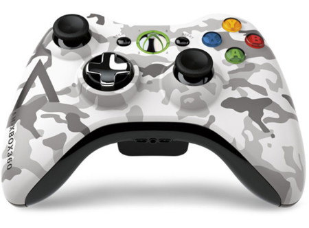Xbox 360 Artic Camouflage