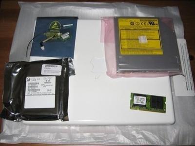 Convertir un iBook en casi un Powerbook