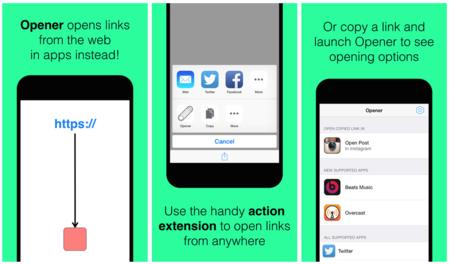 Opener, la aplicación de iOS que hace de puente para otras aplicaciones