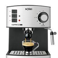 Oferta Flash en la cafetera domestica Solac CE4480 Espresso: hasta medianoche cuesta 79,99 euros en Amazon
