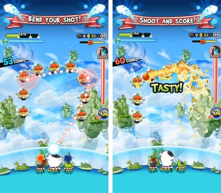 Fruit Attacks combina Puzzle Bobble y Space Invaders en un divertido free to play