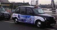 Uruguay en los taxis de Londres