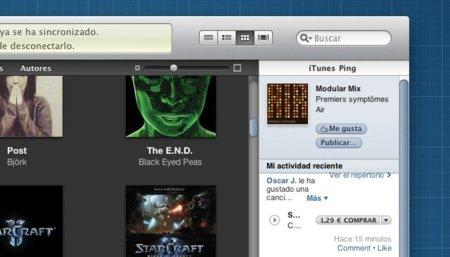 iTunes se actualiza con lo que debería haber sido Ping desde un principio