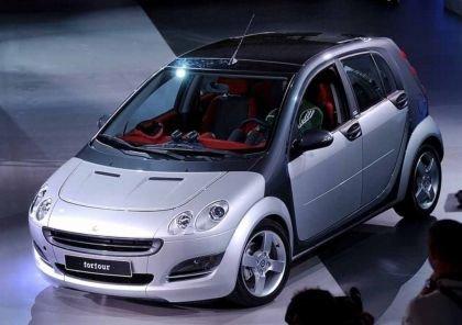 El Smart ForFour, tema de conflicto entre Mitsubishi y DaimlerChrysler