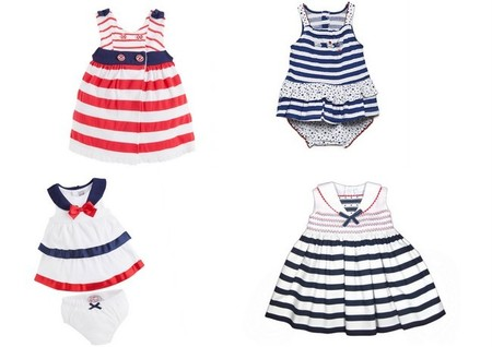 estilo marinero bebés niñas