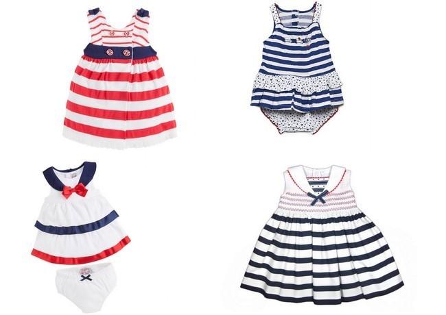 Baño Estilo Marinero:estilo marinero bebés niñas
