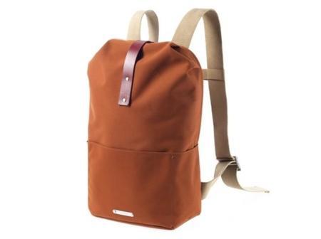 Una mochila para ciclistas de la mítica Brook's