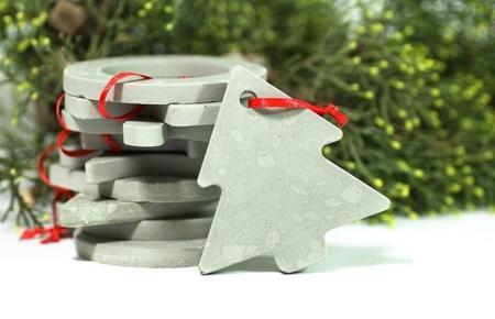 Lo Que Nos Faltaba Por Hacer En Cemento Los Adornos De Navidad