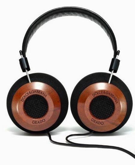 Unos auriculares diseñados por Dolce & Gabbana junto a Grado Labs