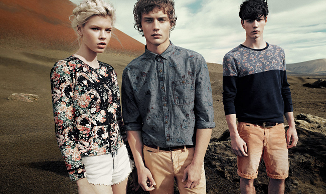 Pull & Bear SS 2013 Campaign