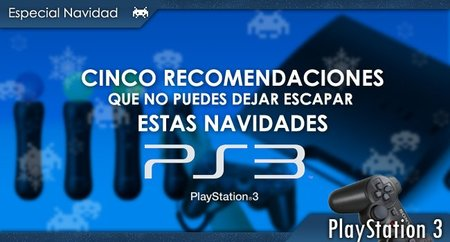 Cinco recomendaciones para PS3 durante estas Navidades