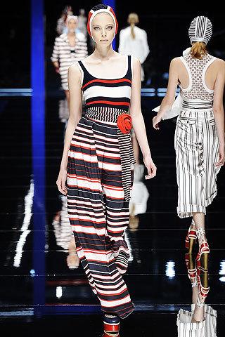 Los mejores estilismos con rayas para esta Primavera-Verano 2009