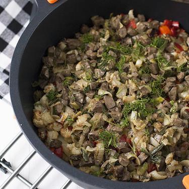 Frito mallorquín, receta tradicional de la gastronomía balear