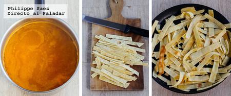 Sopa Tortilla Receta