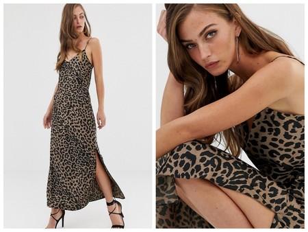 Vestido Fiesta Leopardo