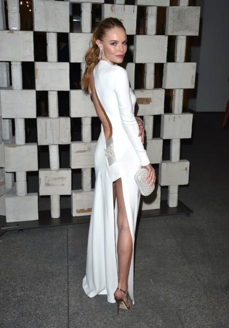 Kate Bosworth Look Vestido Blanco