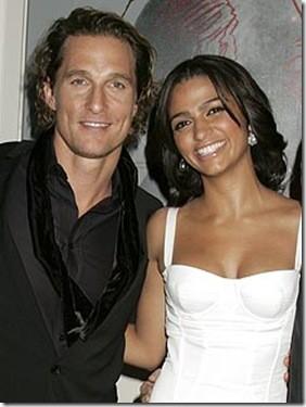 Matthew McConaughey y Camila Alves también son padres