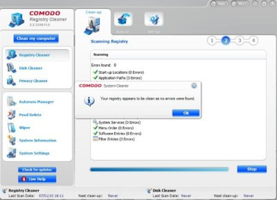 Comodo System-Cleaner, opción gratuita para optimizar nuestros ordenadores