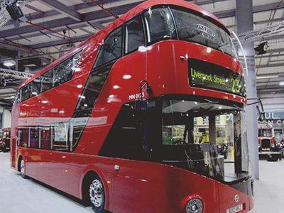 Los icónicos autobuses rojos de dos plantas de Londres serán eléctricos