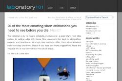 20 cortometrajes de animación que no te puedes perder