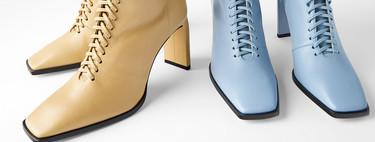 Zara tiene las botas y botines de colores de nueva temporada perfectos para alegrar todos tus looks