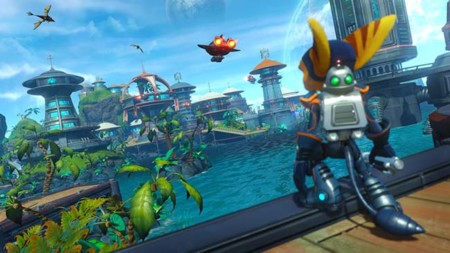 Disfrutemos los primeros 20 minutos de Ratchet and Clank para PS4