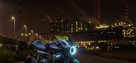 La Honda CB4 Interceptor se deja ver en un vídeo a lo TRON. ¿Es un globo sonda a toro pasado?