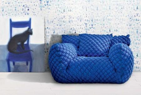 El sofá más acolchado de Gervasoni nos invita al descanso