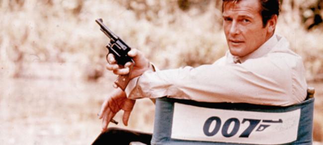 Roger Moore 007 Silla