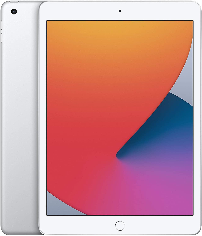 Apple Nuevo iPad (de 10.2 Pulgadas, con Wi-Fi y 32 GB) - Plata (Ultimo Modelo, 8.ª generación)