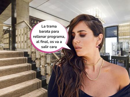 ¡De plagio nada! La empresa de joyas de Anabel Pantoja amenaza con demandar a 'Sálvame' a través de este comunicado oficial