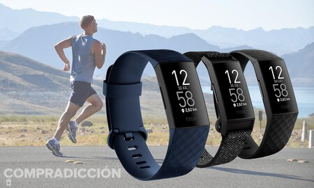 Amazon tiene la pulsera deportiva Fitbit Charge 4 rebajada a 99,95 euros: tu actividad física bajo control por 50 euros menos