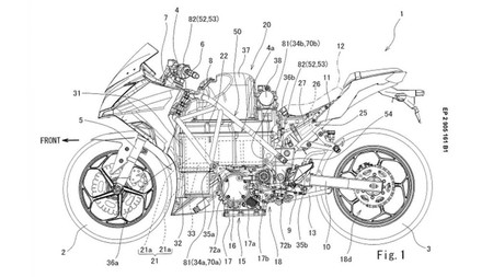 Patente Kawasaki Electrica 1