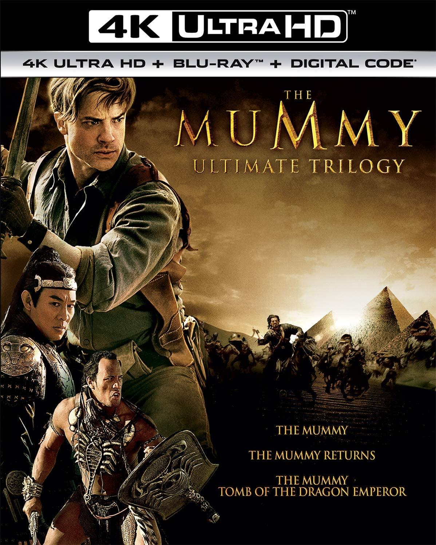The Mummy Ultimate Trilogy - Blu-ray 4K