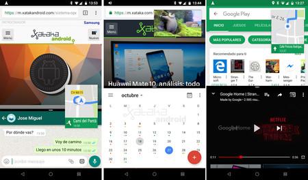 Tres aplicaciones a la vez en Android
