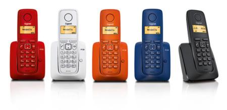 Gigaset A120, telefonos DECT asequibles y coloridos