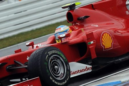 GP de Alemania 2010: Ferrari resurge y Fernando Alonso termina primero