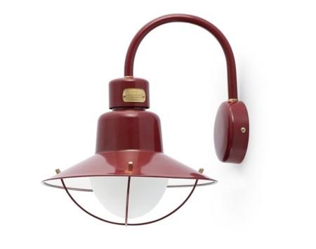 Lámpara Newport. En el retorno de los objetos auténticos