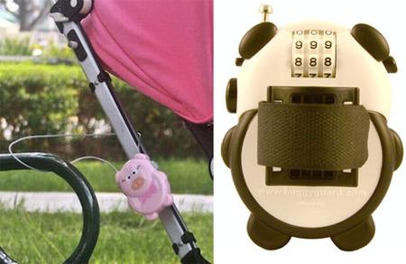 Buggyguard: candado de seguridad para el carrito