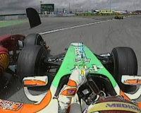 Adrian Sutil se quedó con las ganas una vez más