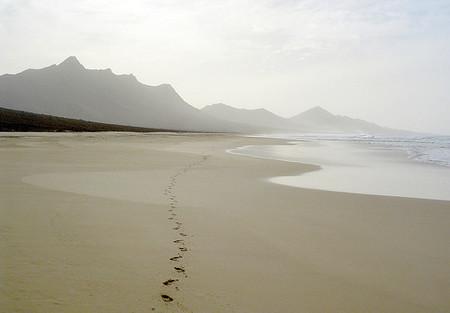 La playa también sirve para pasear