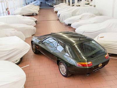 Así de especial es el Porsche 928 shooting brake que le regalaron a Ferry Porsche hace 30 años