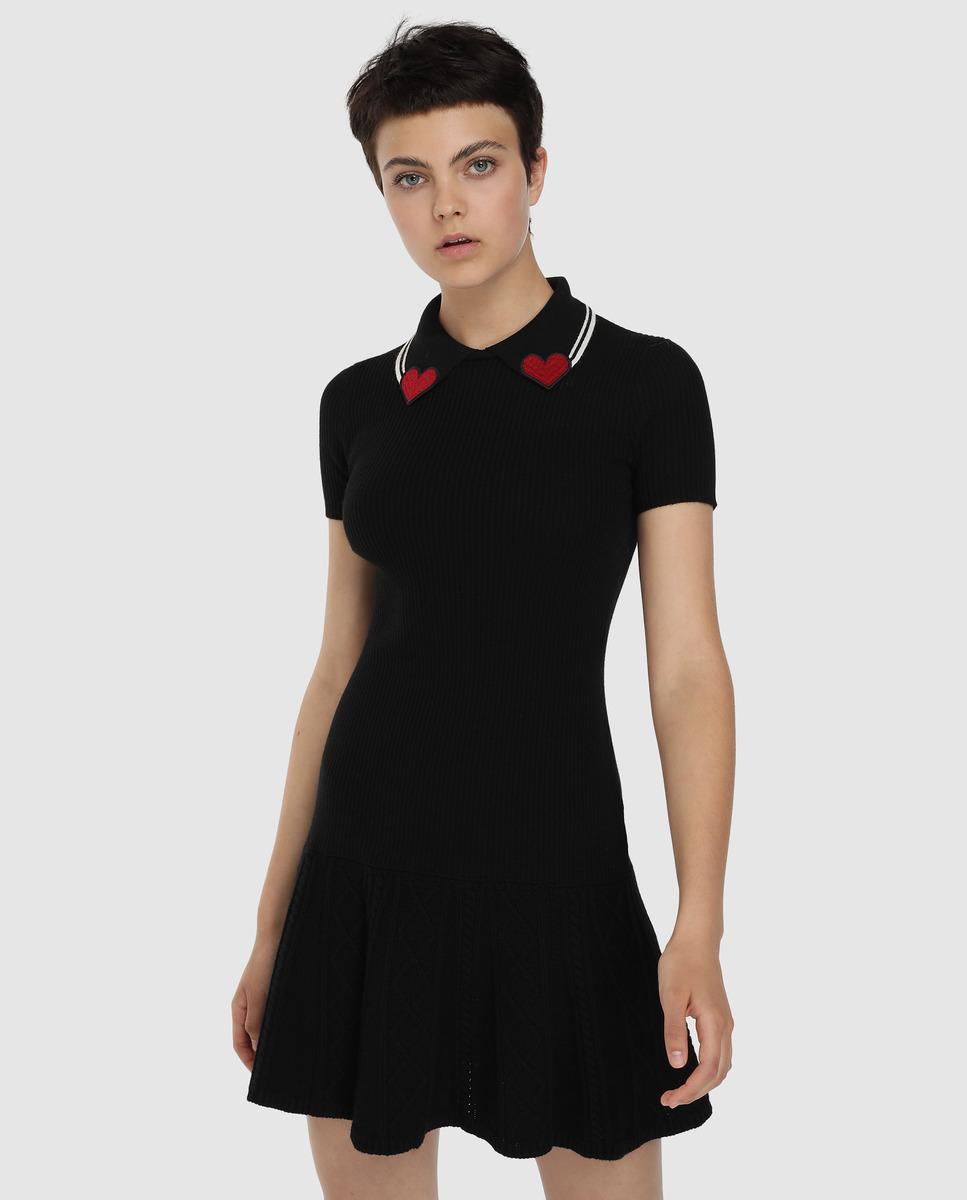 Vestido de mujer Red Valentino de punto negro