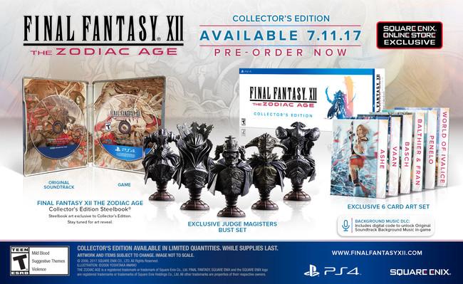 Final Fantasy Xii The Zodiac Age Edicion Coleccionista